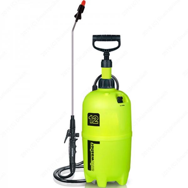 Marolex Auto Washer PREMIUM Drucksprüher 12 L zur Fahrrad oder Auto Reinigung
